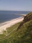 Meer Strand und Felsen