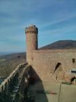 Burghof von der Ballustrade