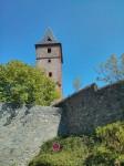 Burgfried der ersten Burg (Falkenstein oder Frankenstein ? )